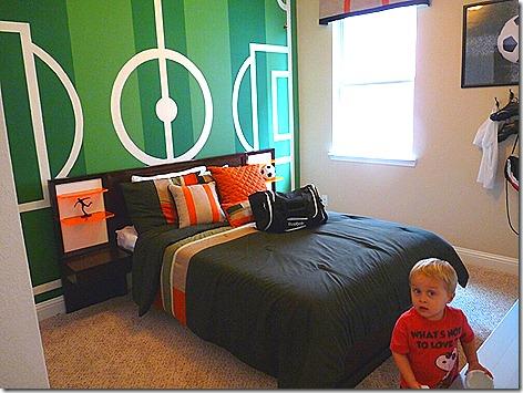 New House - Landon Bedroom
