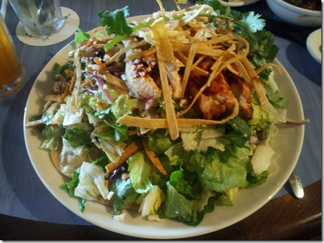 Pappasito's Grilled Chicken Taco Salad