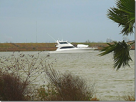 Yacht on the Bayou