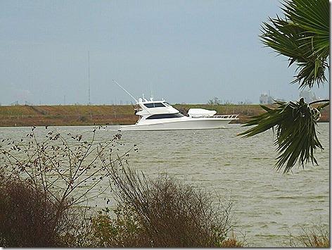 Yacht on the Bayou
