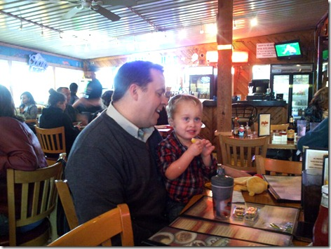 Landon and Lowell at Floyds 1