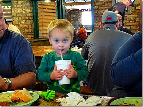 Landon at Salt Lick 1