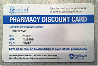 Pharmacy Card