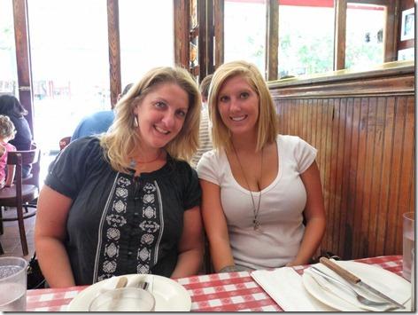 Brandi and Piper at Lombardi's