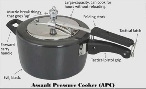 Assault Pressure Cooker