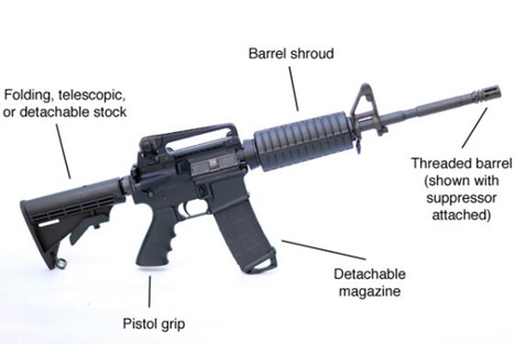 Assault Weapon Graphic