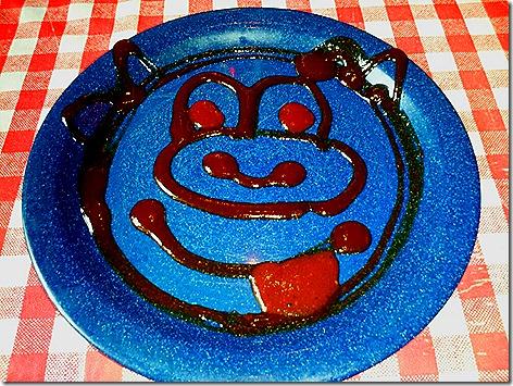 Famous Deve's Piggy Plate