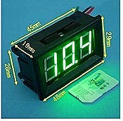 Green LED Voltmeter