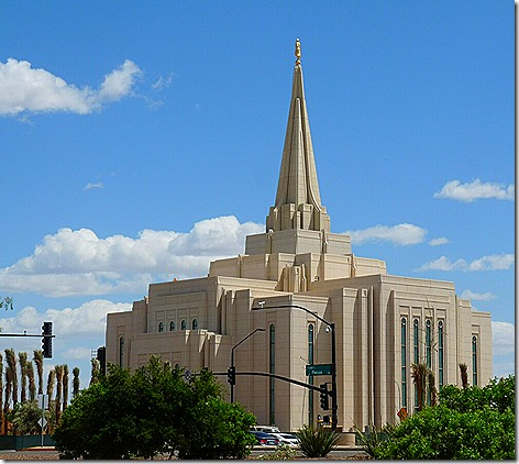 Mormon Temple 1