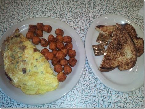 Over Easy Omelet