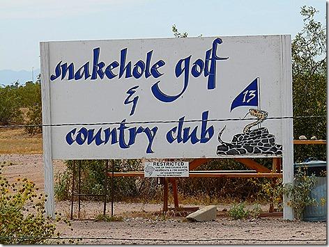 Snakehole Golf 1