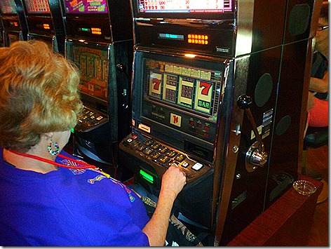 Jan Plays the Slots