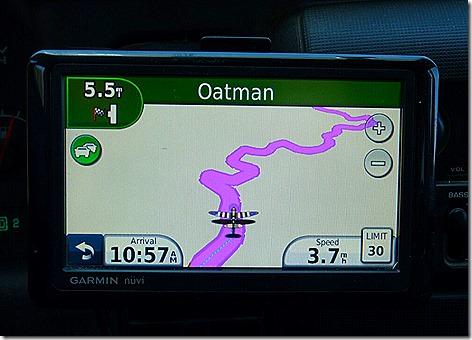 Oatman GPS