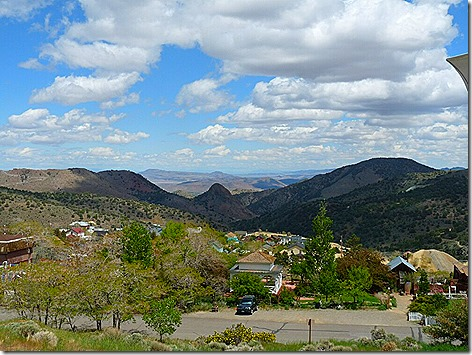 Virginia City 100 mile view
