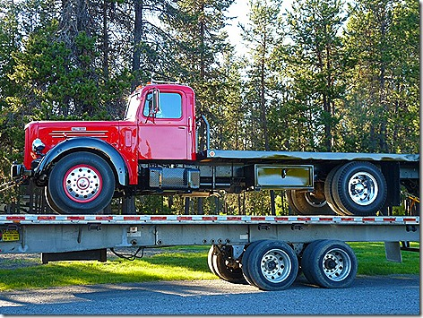 Hall-Scott Truck