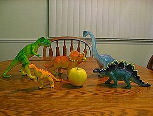 Landon's New Dinosaurs