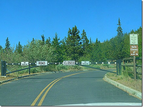 Pilot Butte Gate