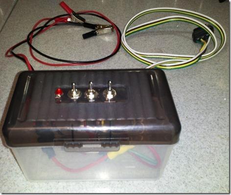 Taillight Test Box 2