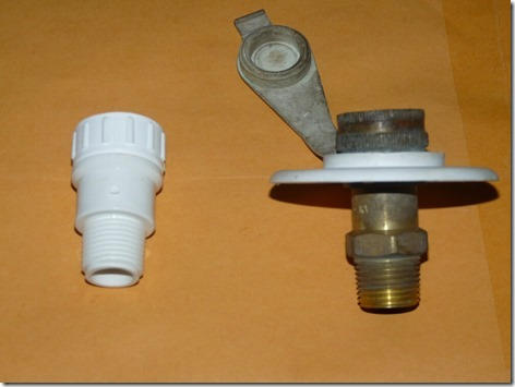 Water Inlet Check Valve