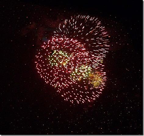 Escapade Fireworks 2