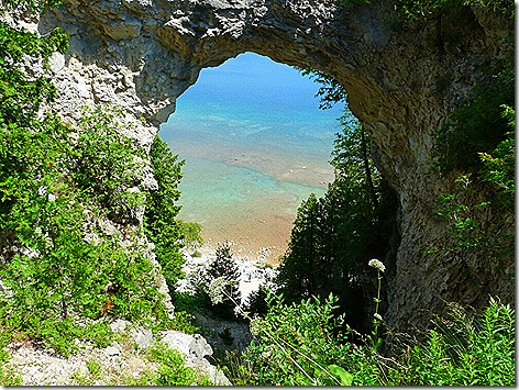 Mackinac Island Arch Rock
