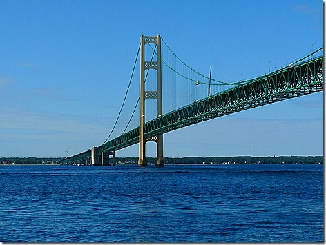 Mackinac Island Bridge 1