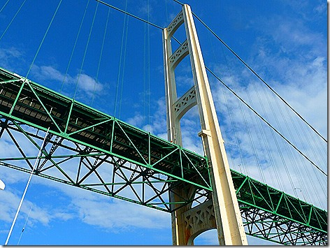 Mackinac Island Bridge 2