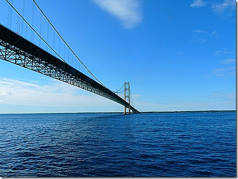 Mackinac Island Bridge 3
