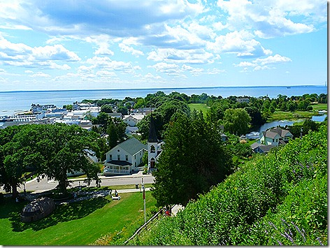 Mackinac Island Fort 6