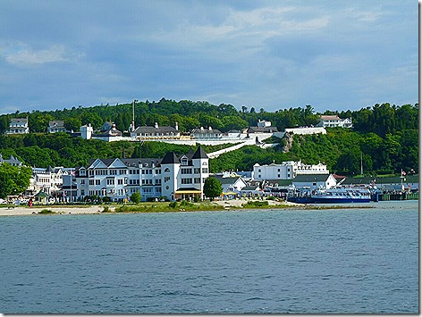 Mackinac Island Harbor 1