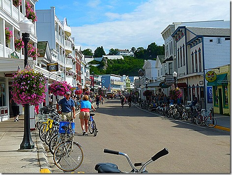 Mackinac Island Street View