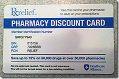 Pharmacy Card