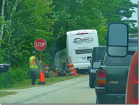 Stuck Tour Bus 1