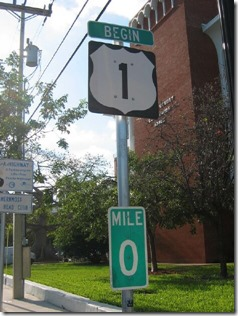 us1 mile marker 0
