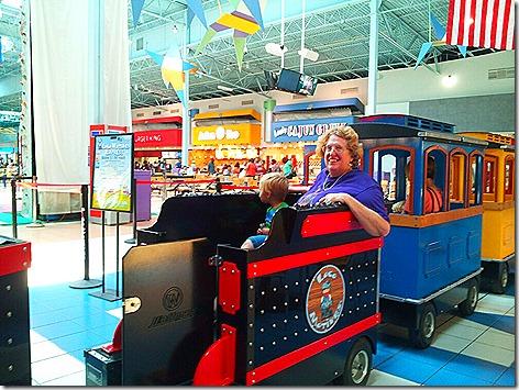 Katy Mills Train 1