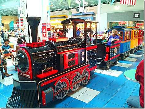 Katy Mills Train 2