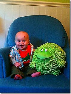 Landon and Frog 12