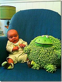 Landon and Frog 6
