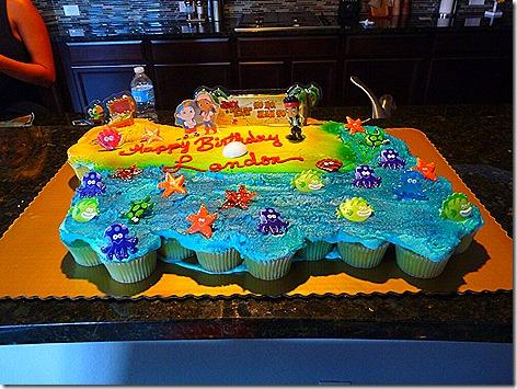 Landon's Birthday Cake 2013