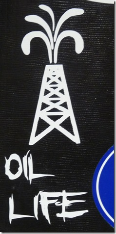 Oil Rig Sticker