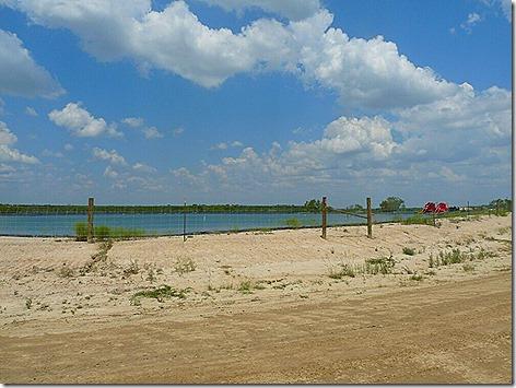 Whitsett Gate Fracking Pond