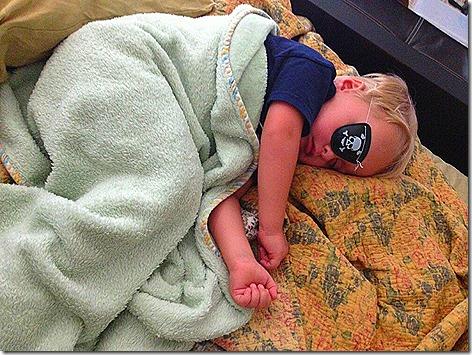 Sleepy Pirate Landon