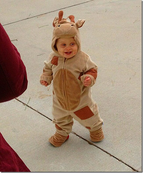 Landon Trick or Treating
