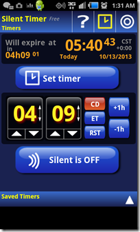 Silent Timer Free