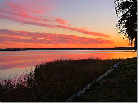 Galveston Bay Sunset 4