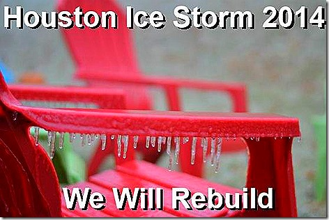 Houston Ice Storm 2014