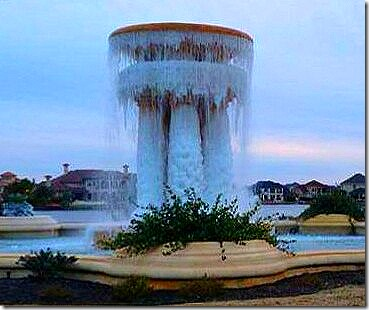 Katy Frozen Fountain