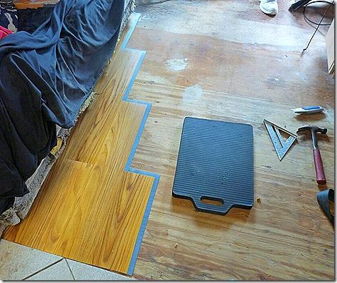 Allure Flooring Install 7