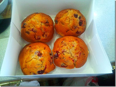 Buc-ee's Cranberry Muffins