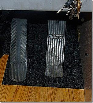 Dashboard Pedal Mat